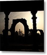 Qutab Minar Complex - New Delhi - India Metal Print