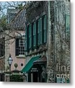 Quuen Street In Charleston Sc Metal Print
