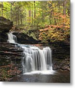 R. B. Ricketts In The Changing Forest Metal Print