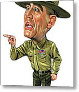 R. Lee Ermey As Gunnery Sergeant Hartman Metal Print