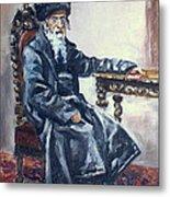 Rabbi Meisels Metal Print