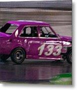 Race Car Metal Print