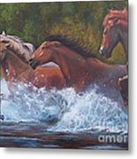 Race For Freedom Metal Print