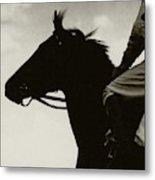 Race Horse Gallant Fox Metal Print