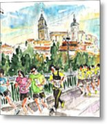 Race In Salamanca Metal Print