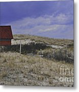 Race Point Light Shed Metal Print