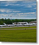 Race Week 2014 Pocono Airport  Metal Print