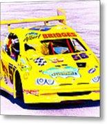 Racer Metal Print