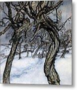 Rackham: Whisper Trees Metal Print