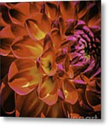Radial Edge Metal Print