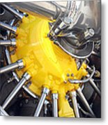 Radial Engine Metal Print