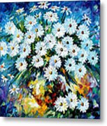 Radiance 2 - Palette Knife Oil Painting On Canvas By Leonid Afremov Metal Print