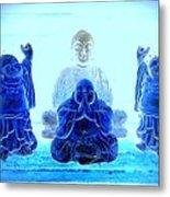 Radiant Buddhas Metal Print