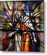 Radiant Jesus Metal Print