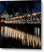 Radiant Reflections Metal Print