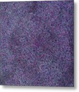 Radiation Violet  Metal Print