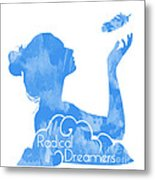 Radical Dreamers Logo Metal Print