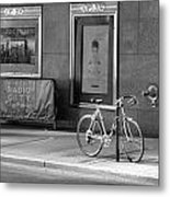 Radio City Music Hall In Black And White Metal Print