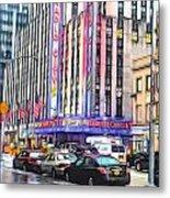 Radio City Music Hall New York City - 2 Metal Print