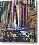 Radio City Music Hall New York City- 1 Metal Print