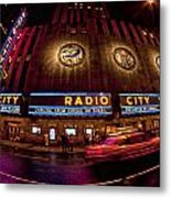 Radio City Metal Print