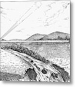 Radiophone, 1880 Metal Print