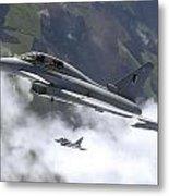 Raf Typhoon Metal Print
