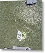 Raft And Boat Metal Print