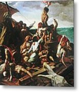 Raft Of The Medusa - Detail Metal Print