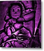 Raggedy Ann And Andy Bright Metal Print