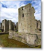 Raglan Castle - 3 Metal Print