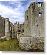 Raglan Castle - 4 Metal Print