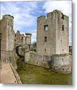 Raglan Castle - 5 Metal Print