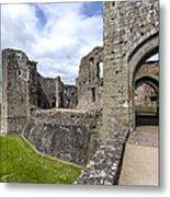 Raglan Castle - 6 Metal Print