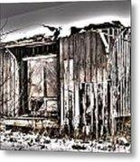 Rail Station Metal Print