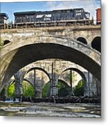 Railroad Bridges Metal Print