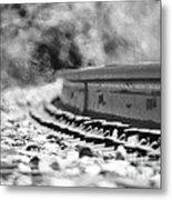 Railroad Heat Metal Print