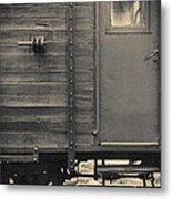 Railroad Nostalgia Metal Print