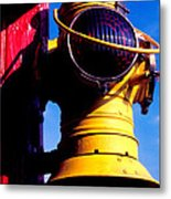 Railroad Oil Lantern Metal Print