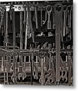 Railroad Wrenches Metal Print