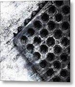 Rain At The Front Door Metal Print