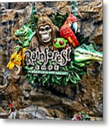 Rain Forest Cafe Signage Walt Disney World Metal Print
