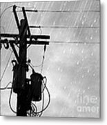Rain Metal Print by Jennifer Kimberly