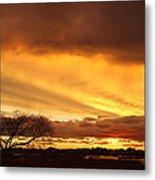 Storm At Dusk 2am-108330 Metal Print