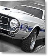 Rain Won't Spoil My Fun - 1969 Shelby Gt500 Mustang Metal Print