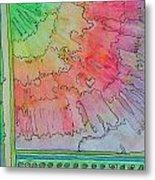 Rainbow 3-squared Metal Print