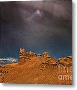 Rainbow And Sandstone Formations Fantasy Canyon Utah Metal Print