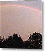 Rainbow Arch Display Metal Print