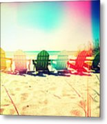 Rainbow Beach I Metal Print