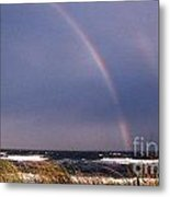 Rainbow Beach Metal Print